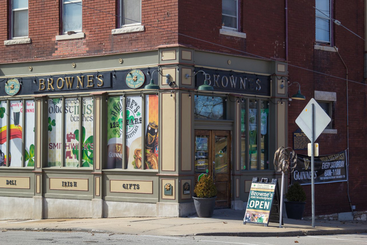 I don't have a drop of Irish blood in me, yet when I stepped through the  brass-handled, wooden doors of Browne's Irish Marketplace in Kansas City,  ...