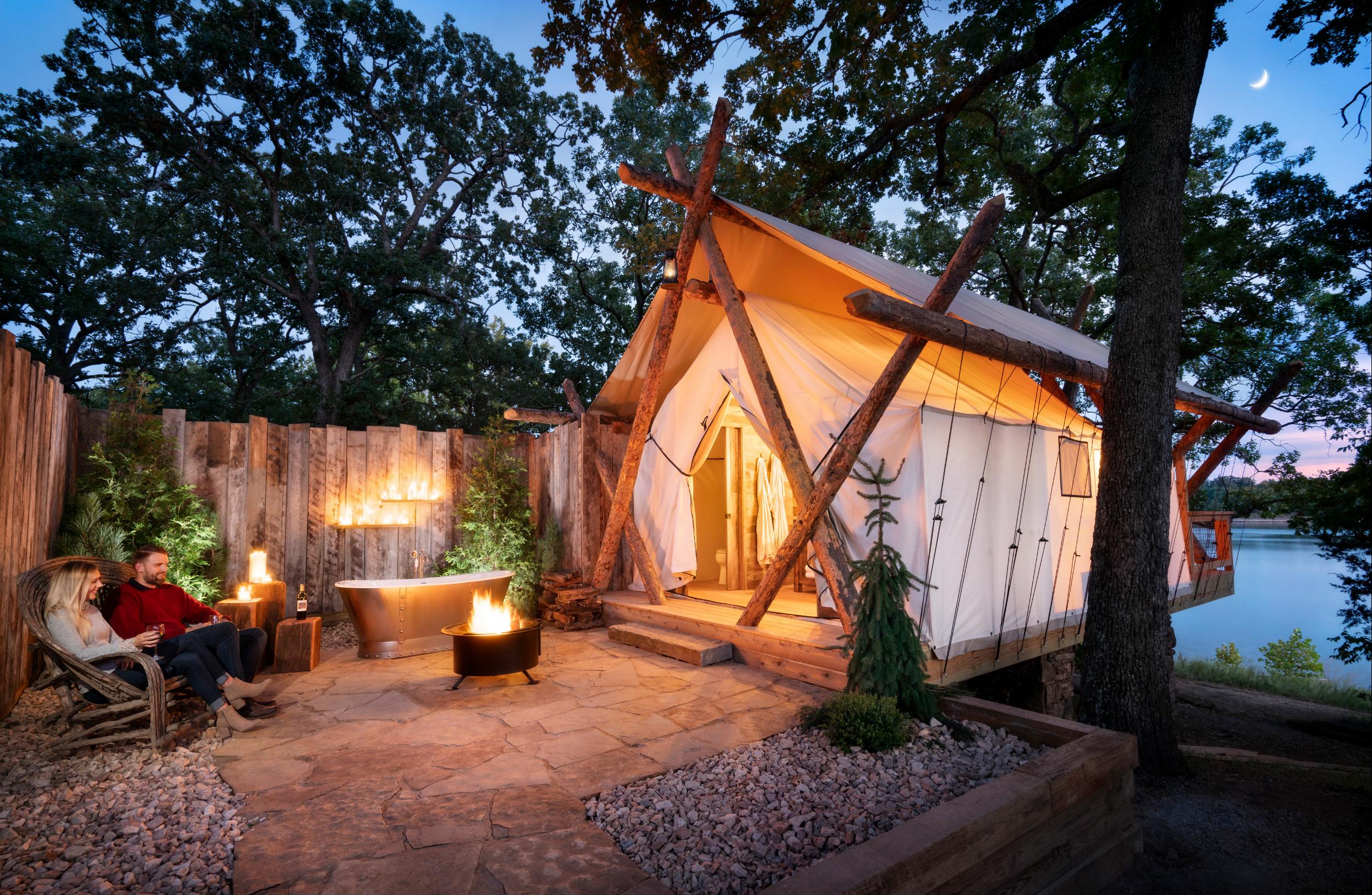 Wooden Bathtub Outdoor